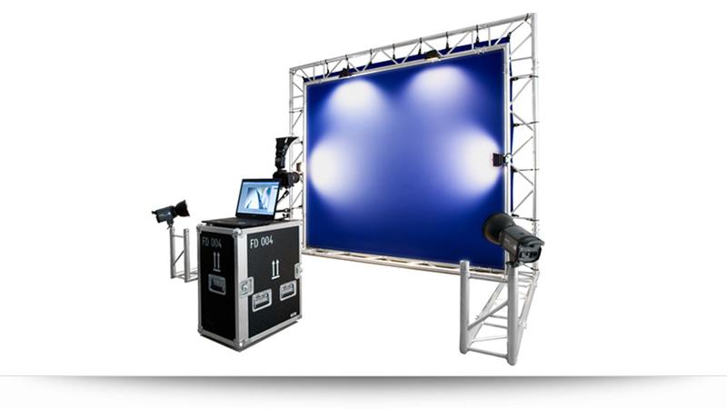 Bluescreen Eventmodul