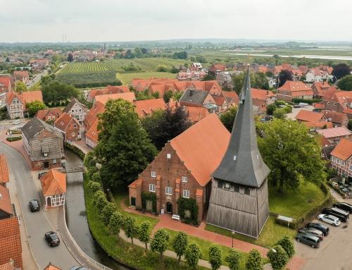 Drohnenfotografie im Alten Land / Jork 01.08.2019
