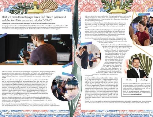 Publikation über Eventfotografie und DSGVO