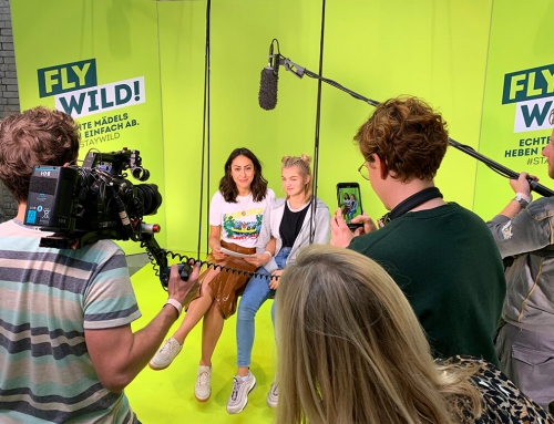 Greenscreen Fotomodul auf dem FFF Day in Berlin 12.10.2019