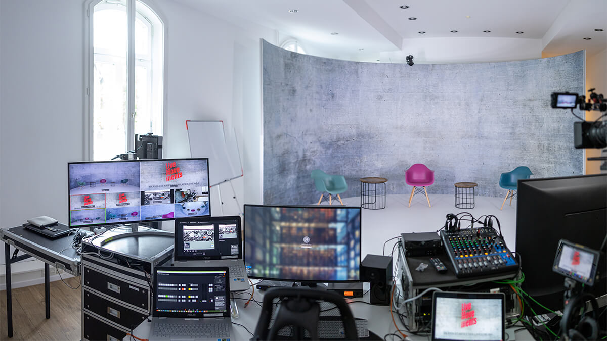 Live Stream Studio Hamburg