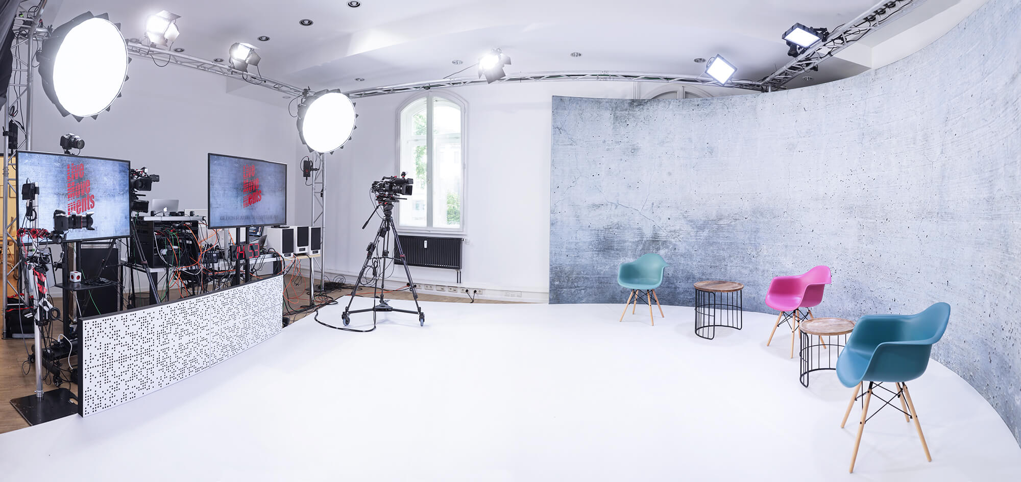 Livestreamstudio Hamburg